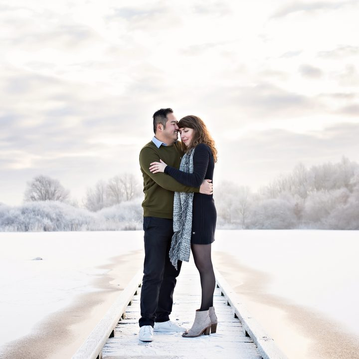 Loveshoot in hartje winter!